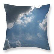Light Beyond By Diane Schiabor Throw Pillow
