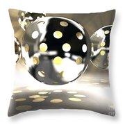 Light Bowls Throw Pillow