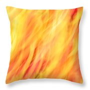 Light Branches Throw Pillow