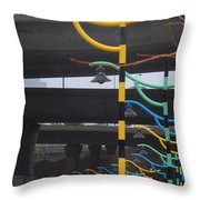 Light By Another Color Throw Pillow