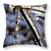 Light Chimes 2 Throw Pillow