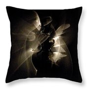 Light Dancers Throw Pillow