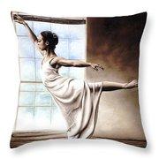 Light Elegance Throw Pillow