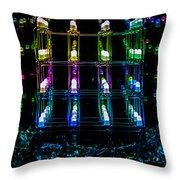 Light Emitting Diodes Throw Pillow