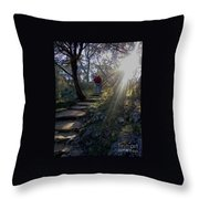 Light For The Path Throw Pillow