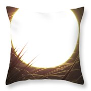 Light From The Moon Throw Pillow