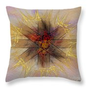 Light Gate - Square Version Throw Pillow