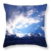 Light II Throw Pillow