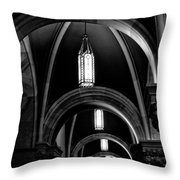 Light In The Basilica Throw Pillow