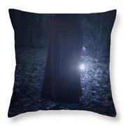 Light In The Dark Throw Pillow by Joana Kruse