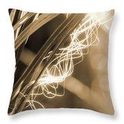 Light In The Moss Throw Pillow