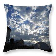 Light In The Sky Throw Pillow