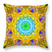 Light In Water Throw Pillow