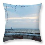 Light Is On Throw Pillow