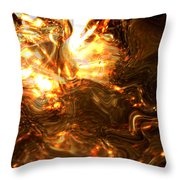 Light Kissing The Dark Throw Pillow