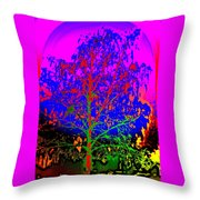 Come On Baby Light My Fire Throw Pillow by Hilde Widerberg