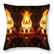 Light My Fire Throw Pillow