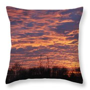 Light My Sky Throw Pillow