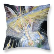 Light Of Awakening Throw Pillow