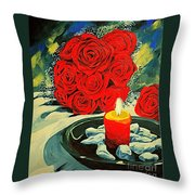 Light Of Love Throw Pillow