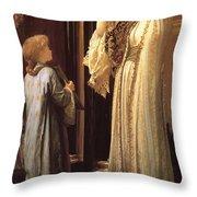 Light Of The Harem Throw Pillow