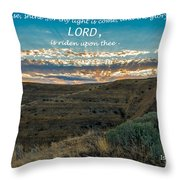 Light Of The Lord Throw Pillow