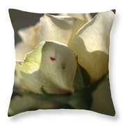 Light On My Face Throw Pillow