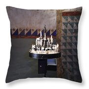 Light One Candle Throw Pillow
