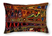 Light Painting 1 Throw Pillow