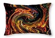 Light Painting 2 Throw Pillow
