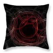 Light Painting 4 Throw Pillow