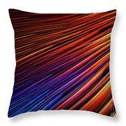 Light Rays Throw Pillow by Kim Sy Ok