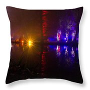 Light Reflections Throw Pillow by Andrew Lalchan