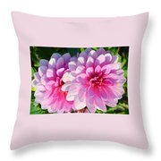 Light Shine Throw Pillow