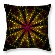 Light Show Abstract 3 Throw Pillow