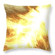 Light Spark Throw Pillow