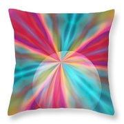 Light Spectrum 1 Throw Pillow