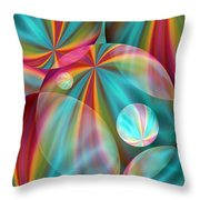 Light Spectrum 2 Throw Pillow