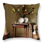 Light Study Throw Pillow by Murtaza Humayun Saeed