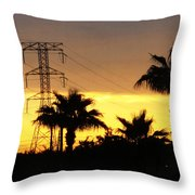 Light Switch Throw Pillow by Ella Char