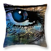Light The Corners Of My Mind Throw Pillow