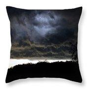 Light Through The Storm Throw Pillow