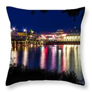 Light Through The Trees Throw Pillow