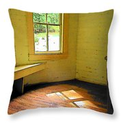 Light Through The Window Throw Pillow