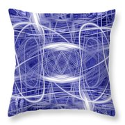 Light Trails 1 Throw Pillow