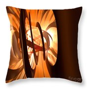 Light Transference Throw Pillow