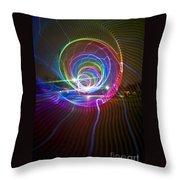 Light Tunnel Throw Pillow