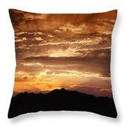 Light Up The Sky  Throw Pillow