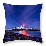Light Vapor Throw Pillow