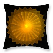 Light Wheel Throw Pillow